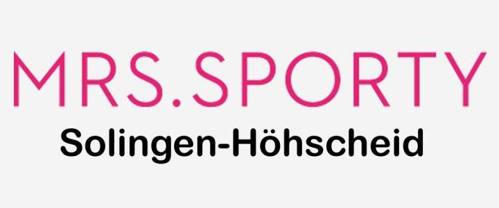 Mrs.Sporty Club Solingen-Höhscheid